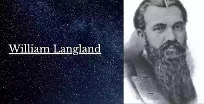 Chaucer did not stand alone in the domain of English poetry of his time. He had great contemporarie, William Langland. Though entirely overshadowed by the dominating figure of Chaucer, Langland is considerable poets. In fact, for centuries William Langland was ranked with Chaucer.