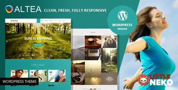 Multipurpose One Page WordPress Theme 2015