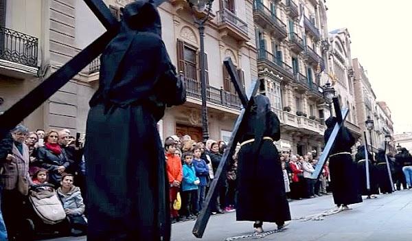 Programa, Horarios e Itinerarios Semana Santa Barcelona 2019