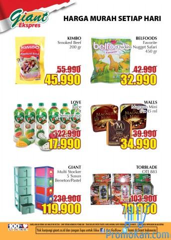 Katalog Promo Koran Giant Ekspres,Ekstra Di Weekend Akhir Pekan Oktober 2016