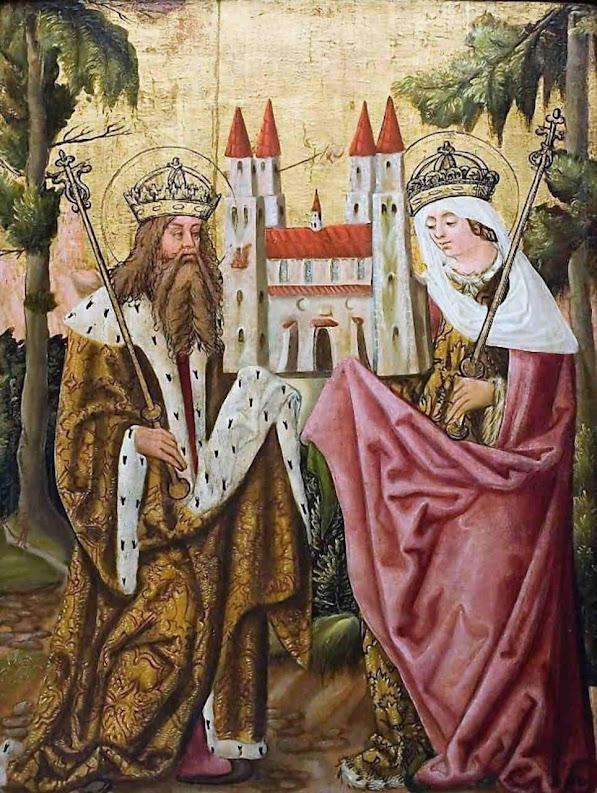 O santo e imperial casal