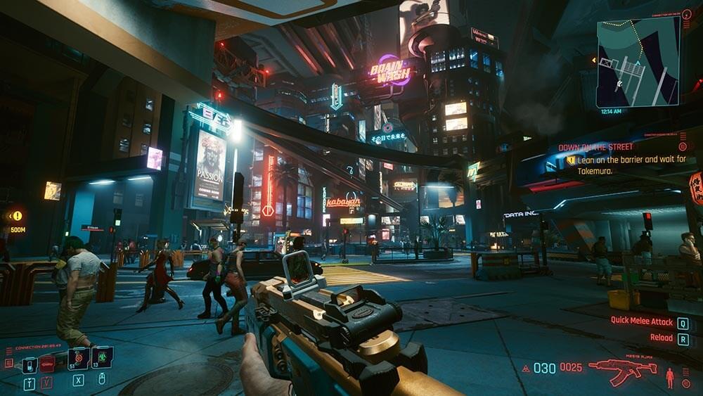 Cyberpunk 2077 Review Gun