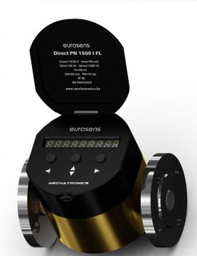 Mechatronics Eurosens Direct 1500 Gear Flow Meter
