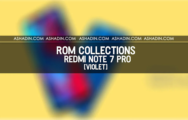Download ROM Recovery MIUI Redmi Note 7 Pro Terbaru