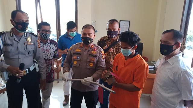 TSK KDRT Diamankan Polsek Rumbai Pesisir, Setelah Aniaya Istri Depan Adik Ipar