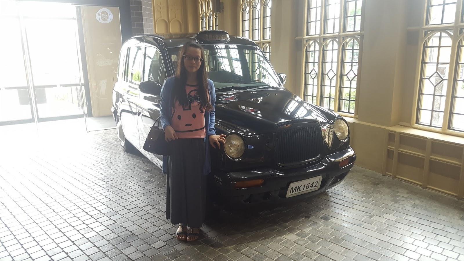 英國復古的計程車