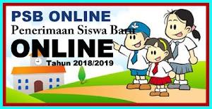 Aplikasi Penerimaan Siswa Baru Online Tahun 2018/2019