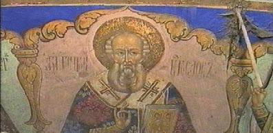 τοιχογραφία στον ναό Αγ. Δημητρίου Θεσσαλονίκης