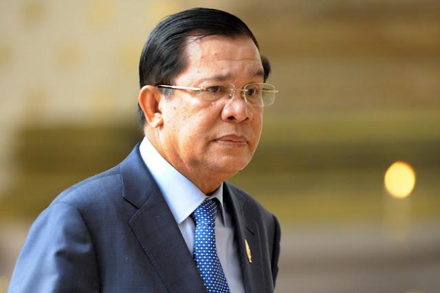 Le Premier Ministre Hun Sen. Photographie RFA