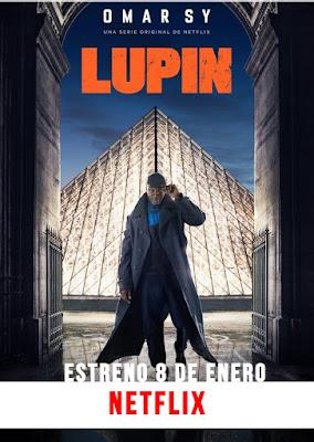 Lupin - Poster - Temporada 1