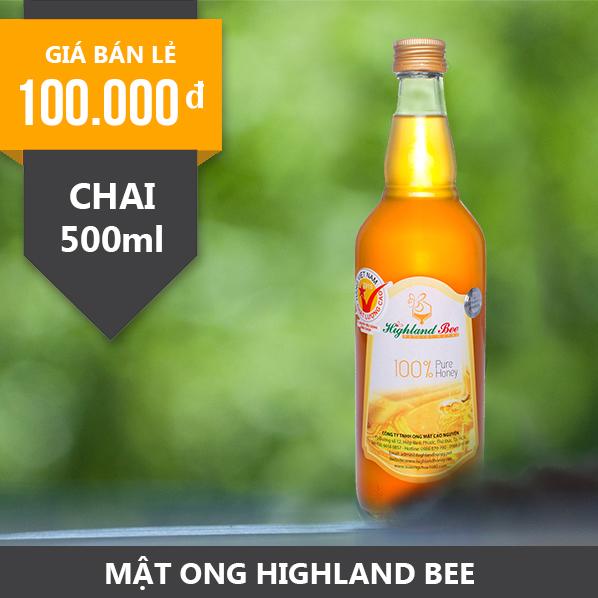 Mật ong Highland Bee