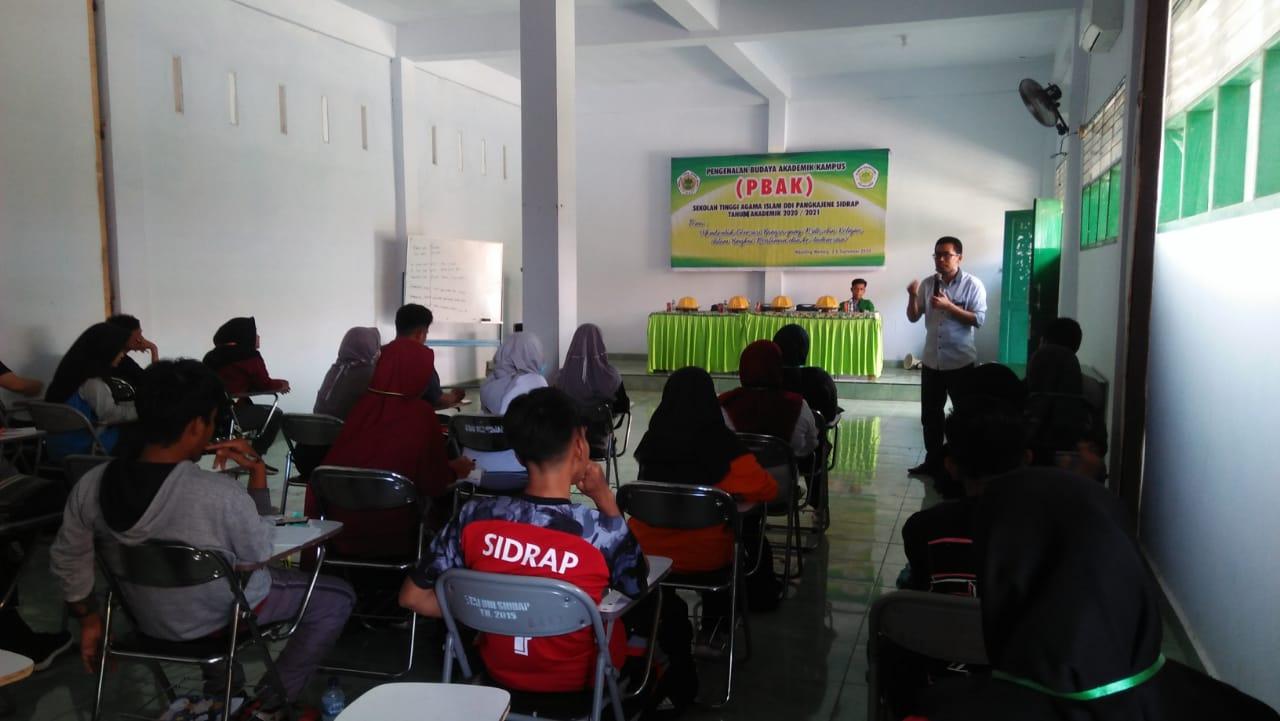 Komisioner Bawaslu Bawa Materi Pendidikan Politik di Kampus STAI DDI Sidrap