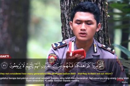 Rajin Update Konten Islami, Polisi Muda Ini Wajib Kamu Follow