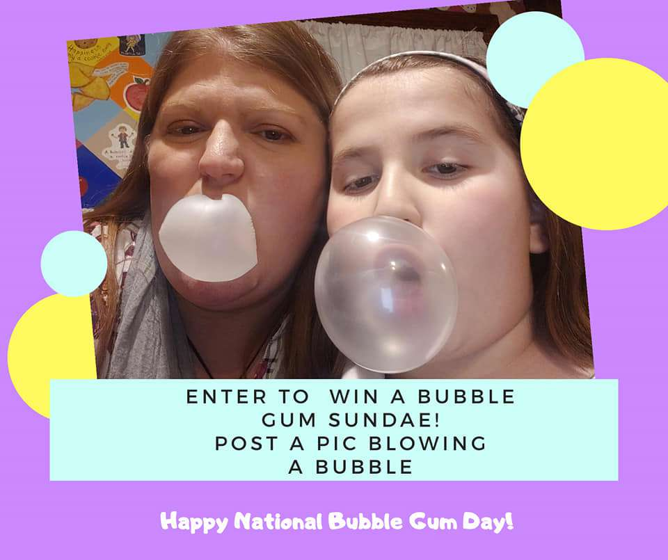 National Bubble Gum Day Wishes Photos