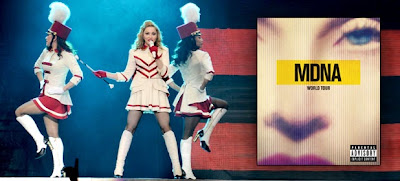 VINCI ''MADONNA WORLD TOUR'': DOPPIO CD+DVD LIVE: CON RADIO 105.NET :CONCORSO GRATUITO E INTRIGANTE!