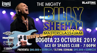 Billy Sheehan en Vivo 2019 | Clínica de Bajo