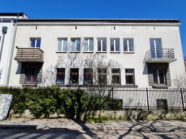 Warszawa Warsaw Saska Kępa dom własny architekta architektura architecture funkcjonalizm modernizm