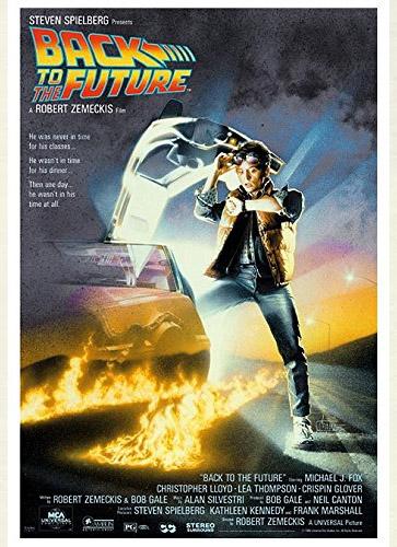 Poster Regreso al Futuro