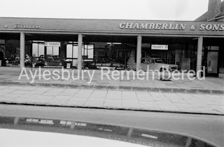 Chamberlin & Sons garage late 1960s  photo from Aylesbury Remembered