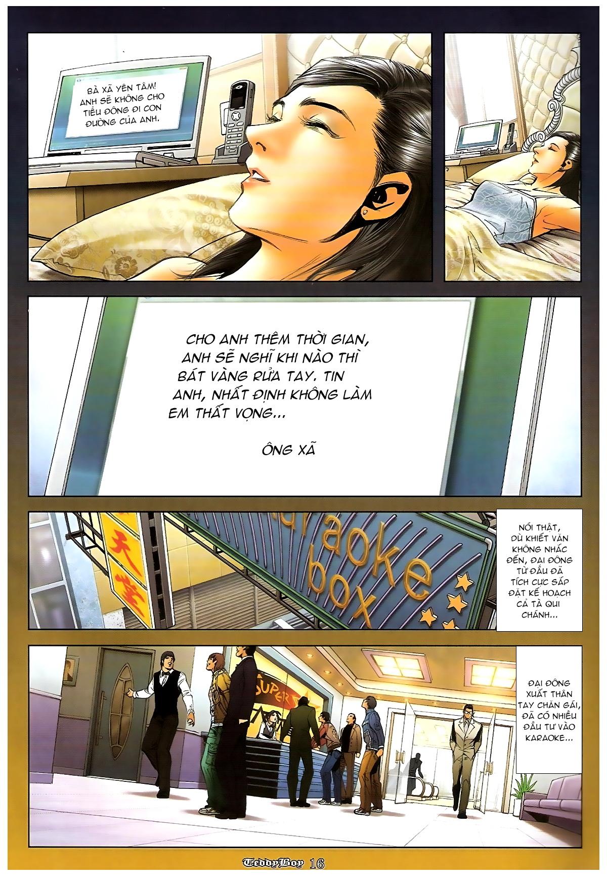 Người Trong Giang Hồ - Chapter 1265: Bát vàng rửa tay - Pic 15