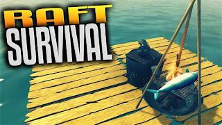 Raft survival simulator Apk terbaru