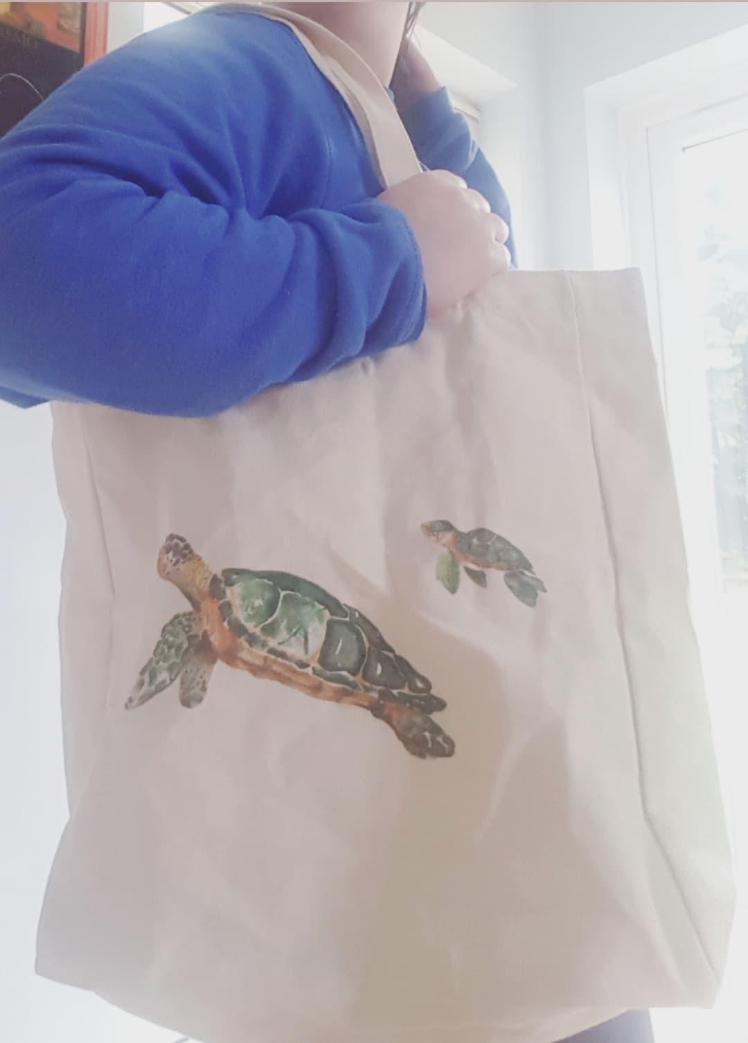 Net Zero Co Review - Zero Waste Reusable Canvas Bag