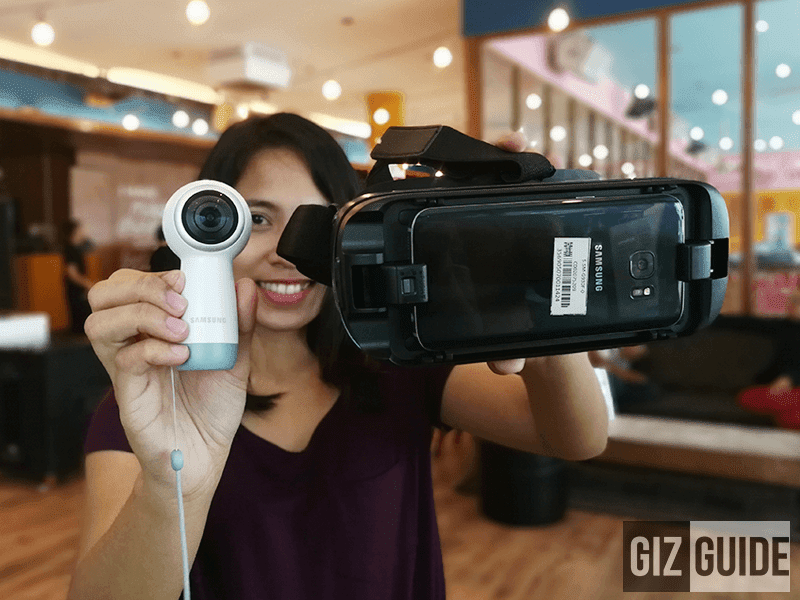 Samsung Launches Galaxy Gear VR And Gear 360 (2017) In PH