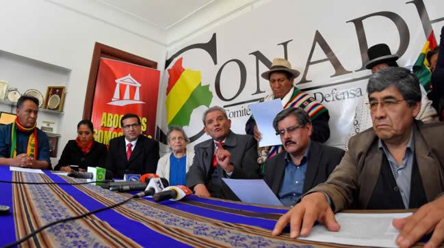 Conade en alerta ante posible habilitación de candidatura de Evo Morales