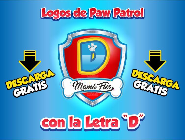 """Paw Patrol: Nombres de Niño con la Letra """"D"""""""