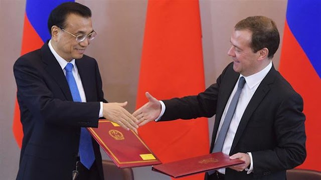 Russian-Chinese trade volume to increase to $200 billion: Dmitry Medvedev