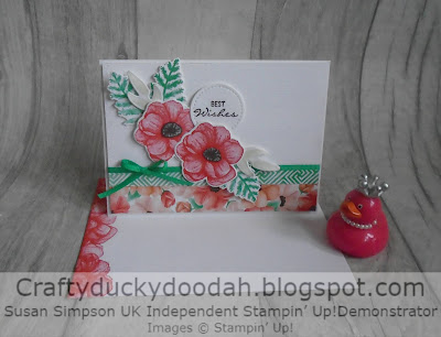 Craftyduckydoodah!, Stampin' Up! UK Independent  Demonstrator Susan Simpson, Painted Seasons, Four Seasons Framelits, Supplies available 24/7 from my online store,