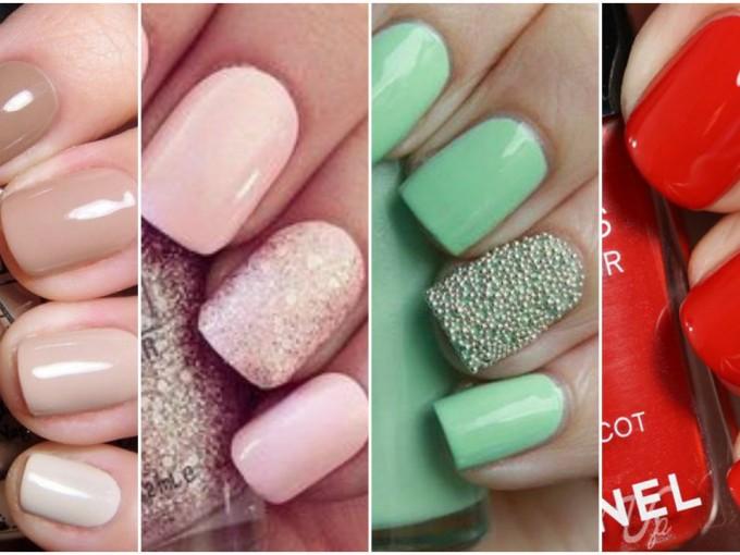 Excepcional Uñas Esmalte De Colores Primavera Verano 2015 Imágenes ...