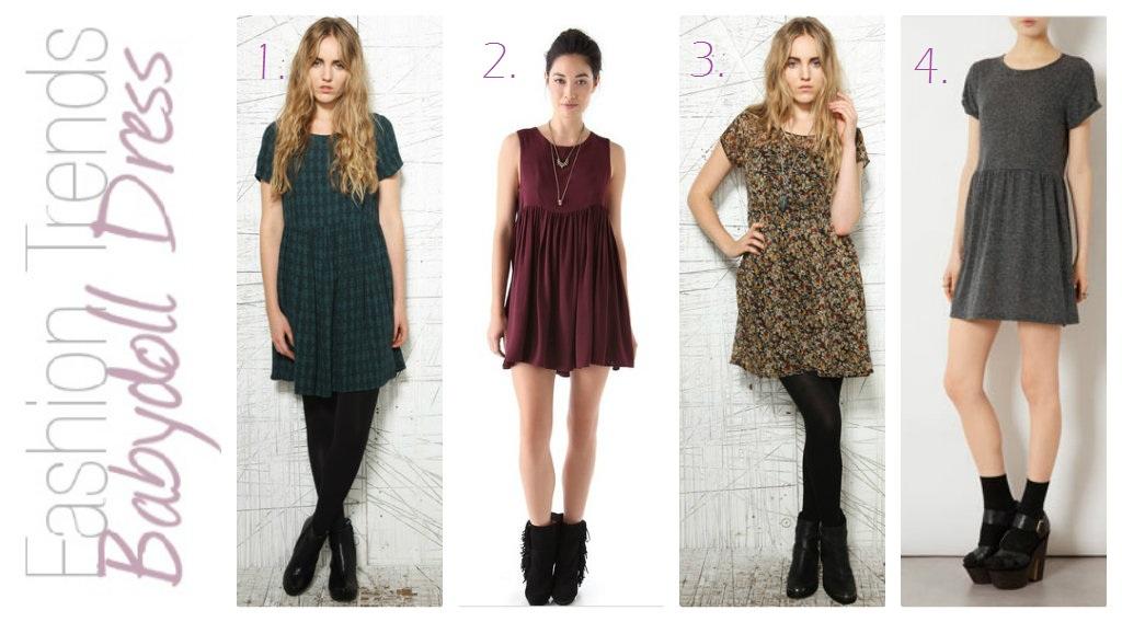 Last Nights Party Tights Fashion Trend Babydoll Dress