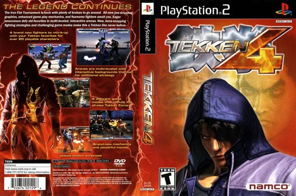 Descargar Tekken 4 para PlayStation 2 en formato ISO región NTSC y PAL en Español Multilenguaje Enlace directo sin torrent.