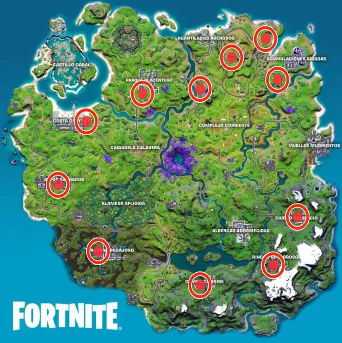 Fortnite week 1 season 7: guide and how to complete all missions