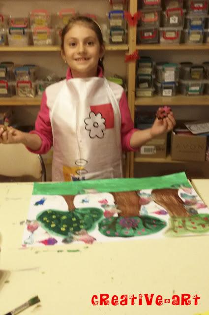 Ateliere pictura-pictura cu acrilice