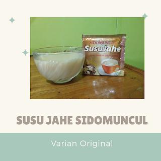 Susu Jahe Sidomuncul