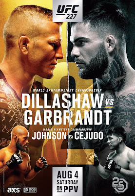 UFC 227 Dillashaw Vs. Garbrandt 2 Custom HD Dual Latino