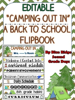 Camping Day Theme Parent Letter