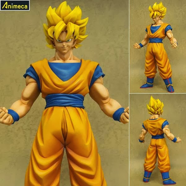 FIGURA SON GOKU SUPER SAIYAJIN Gigantic Series DRAGON BALL Z
