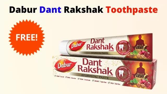 Dabur Dant  Rakshak Toothpaste Free Sample