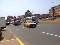 trafic à Lima