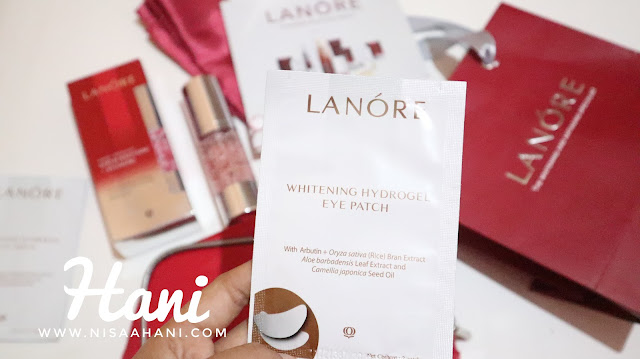 Lanore Whitening Hydrogel Eye Patch