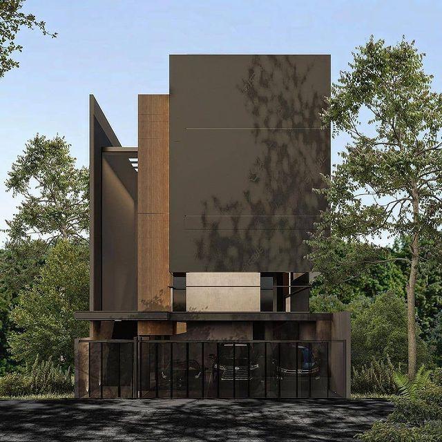 desain rumah minimalis estetik