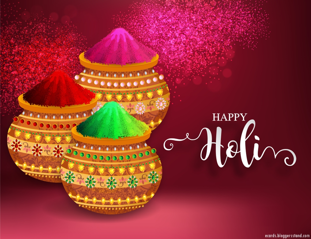 Happy Holi images 2021 in English to wish your close friends