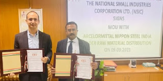 AMNS signed MoU with NSIC