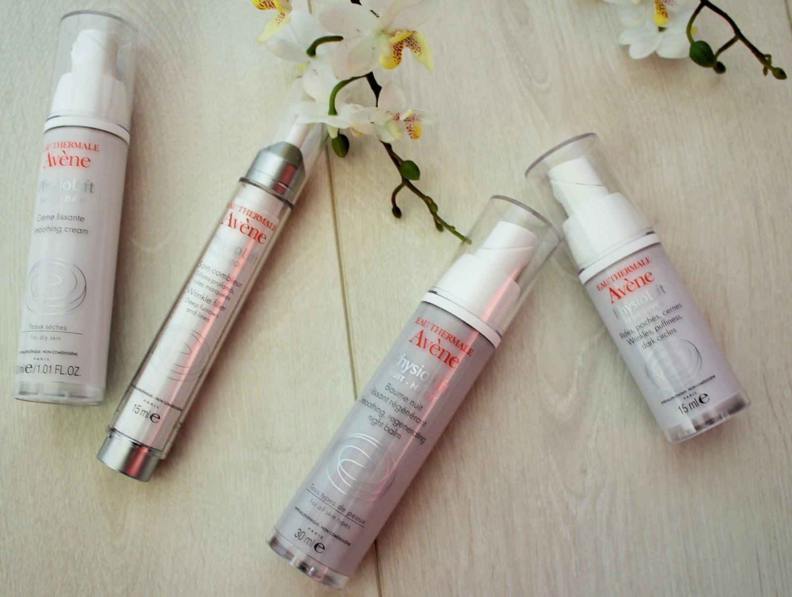 Avene PhysioLift range - Anti-Ageing skincare