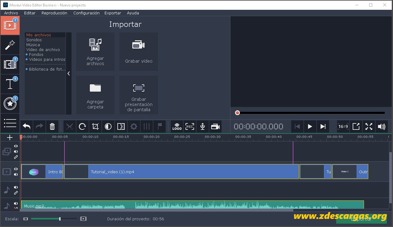 Movavi Video Editor Full Español