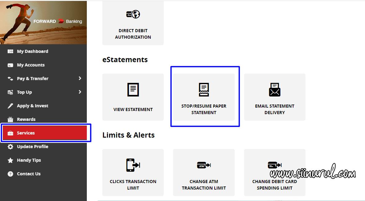 Cara Hentikan Penghantaran eStatement CIMB Bank