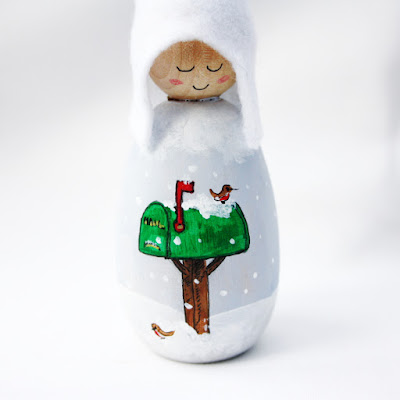 Christmas Mail Cornish Pixie Elf